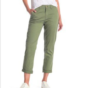 J. Crew - Slim Chino Ankle Pant Green - Size 0